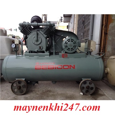 Máy nén khí mini Nhật bãi 3.7kw (5hp)