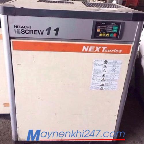 Máy nén khí Hitachi cũ 11kw (15hp)