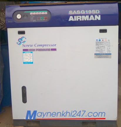 Máy nén khí Airman 18.5 kw cao áp 14 bar