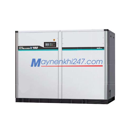 Máy nén khí trục vít Hitachi không dầu Next II Series 132-240KW hai cấp nén