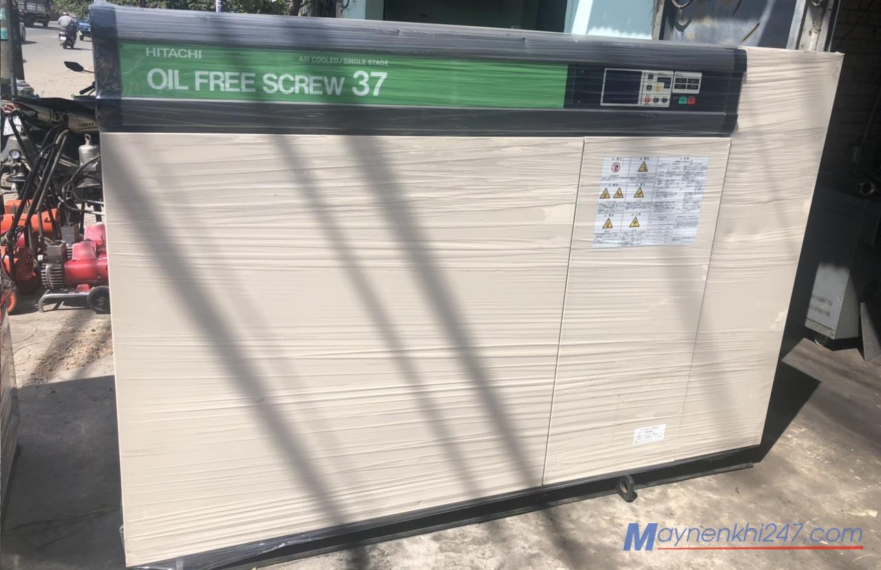 may-nen-khi-khong-dau-hitachi-37kw-50hp