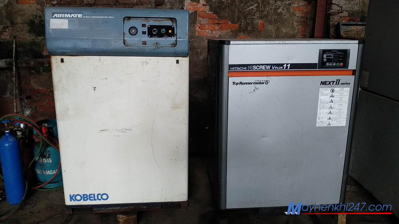 chất lượng máy nén khí cũ không đồng đều