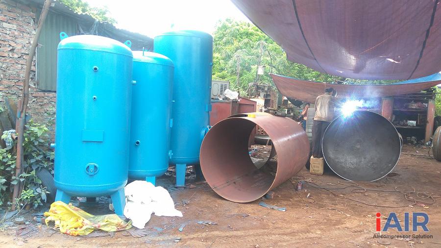 Bình chứa khí nén - Những nội quy an toàn khi sử dụng.