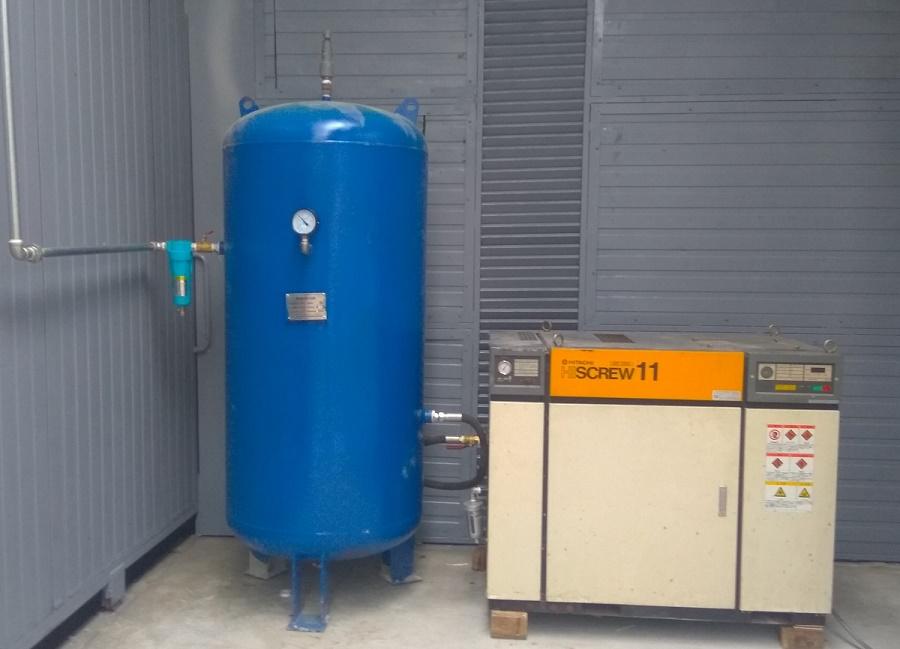 Hướng dẫn cách tính thể tích bình khí nén dựa trên công suất của máy nén khí.