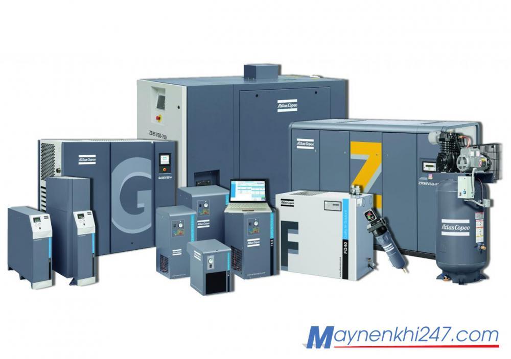 Tài liệu chuẩn về máy nén khí trục vít - nguyên lý, cấu tạo và ứng dụng