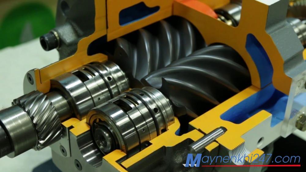Ưu điểm, nhược điểm và ứng dụng của máy nén khí trục vít không dầu
