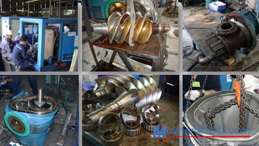 Mách bạn đại lý chuyên sửa chữa máy nén khí trục vít uy tín tại Hà Nội