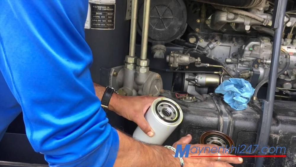 Tài liệu sửa chữa máy nén khí trục vít mới nhất