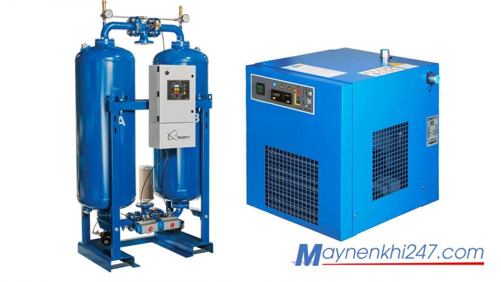 Tìm hiểu về máy sấy khí, cấu tạo, nguyên lý làm việc và ứng dụng