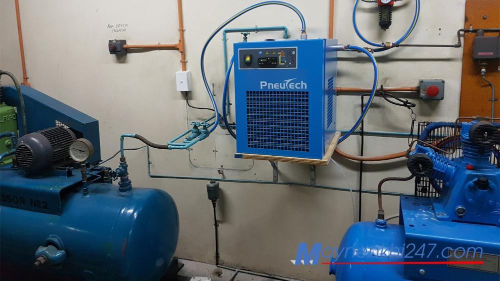 Những điều cần biết để sử dụng máy sấy khí an toàn hiệu quả