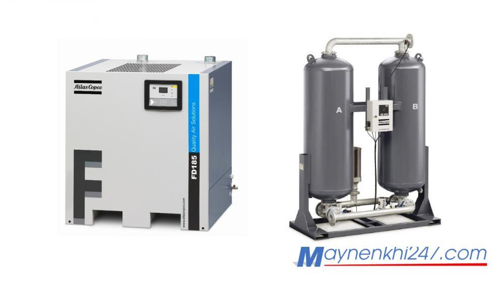 Phân biệt máy sấy khí kiểu làm lạnh và máy sấy khí kiểu hấp thụ