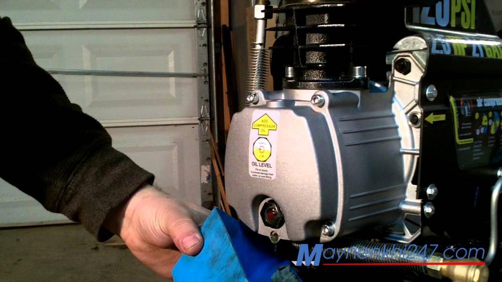 Phải làm gì khi máy nén khí bị lỗi nhiệt độ cao?