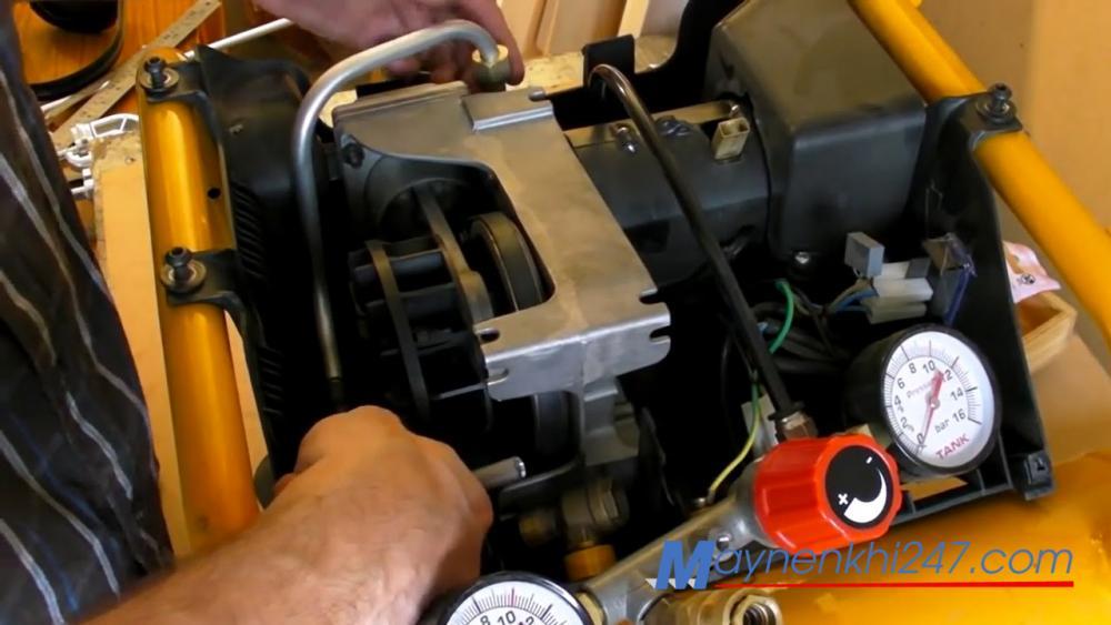 Vì sao máy nén khí chạy không ra khí? Nguyên nhân và cách khắc phục