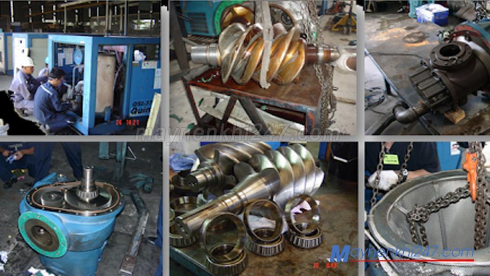 [Địa chỉ Vàng] Chuyên gia cứu hộ máy nén khí, sửa chữa máy nén khí các loại tại Hà Nội