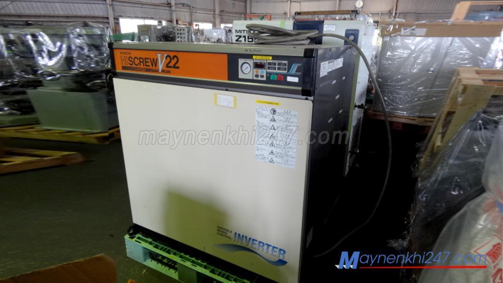 Vì sao máy nén khí Hitachi cũ được ưa chuộng trên thị trường?